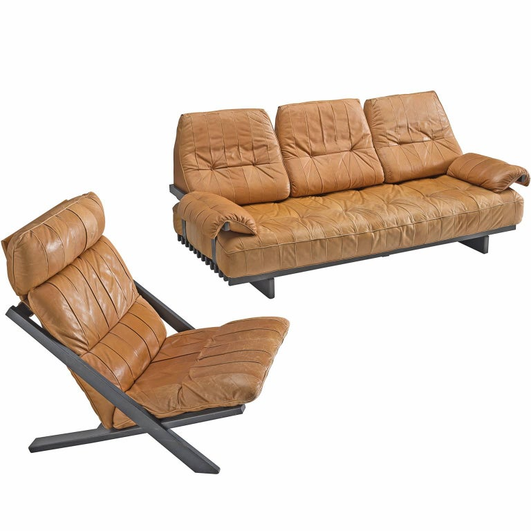 Ueli berger lounge chair and ds 80 sofa by de sede for for 80s lounge chair