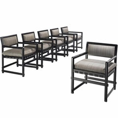Edward Wormley Set of Six Dining Chairs for Mobiel Universel