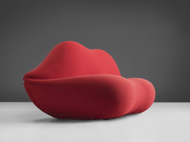 Italian Studio 65 'Marilyn Bocca Lip' Sofa For Sale