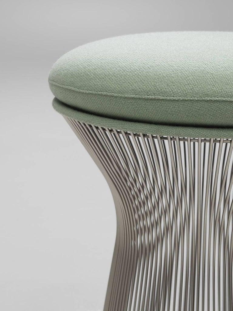 Warren Platner Fabric and Metal Stools 4