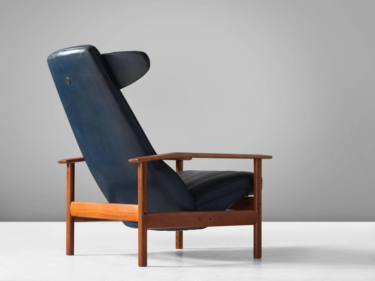 Lounge Chair by Sven Ivar Dysthe for Dokka Mobler Norway For Sale at 1stdibs