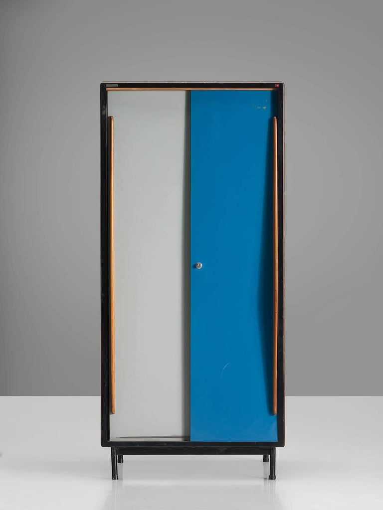 Mid-Century Modern Willy Van Der Meeren Restored Cabinet for Tubax For Sale