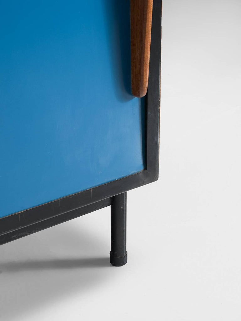 Mid-20th Century Willy Van Der Meeren Restored Cabinet for Tubax For Sale