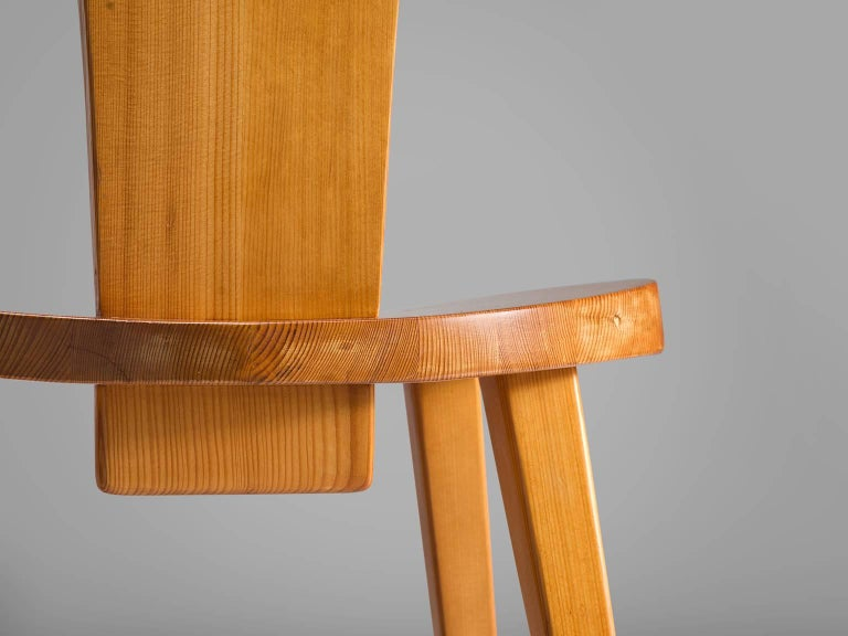 Jacob Kielland Brandt Dining Set In Solid Pine For Sale At