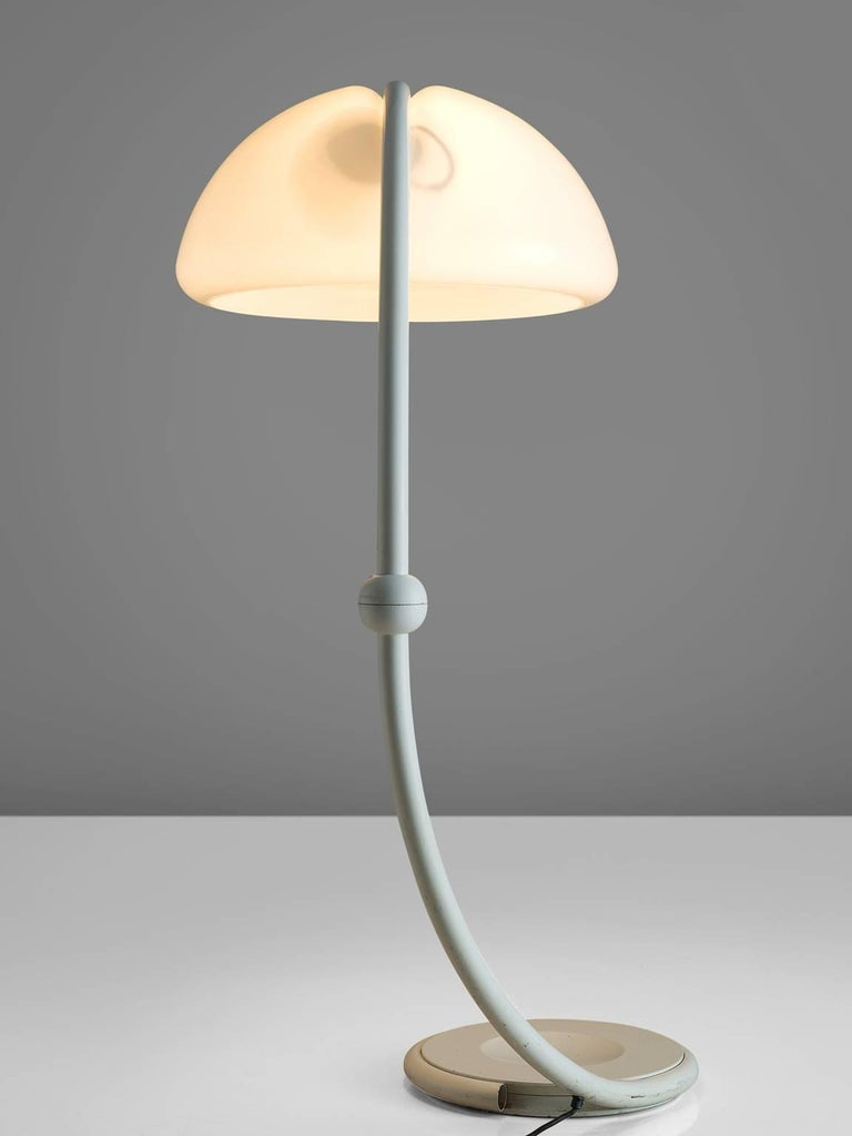 Elio Martinelli For Martinelli Luce Serpente Floor Lamp