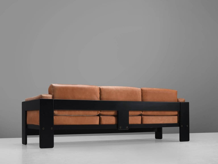 Italian Pair of 'Bastiano' Sofas by Tobia Scarpa for Knoll