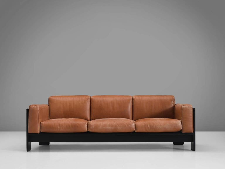 Mid-Century Modern Pair of 'Bastiano' Sofas by Tobia Scarpa for Knoll