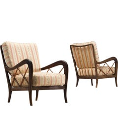 Italian Easy Chairs, circa 1960