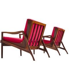 Brazilian Easy Chairs by Liceu De Artes e Officios