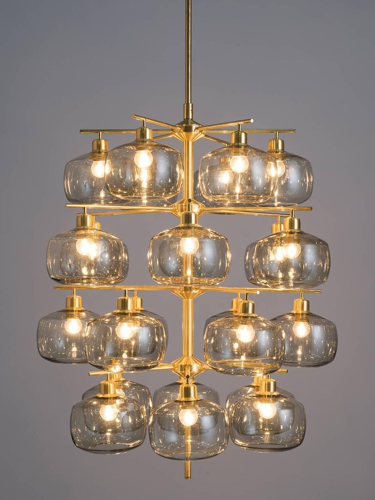 Eight large swedish chandeliers by holger johansson 1952 for sale eight large swedish chandeliers by holger johansson 1952 3 arubaitofo Gallery