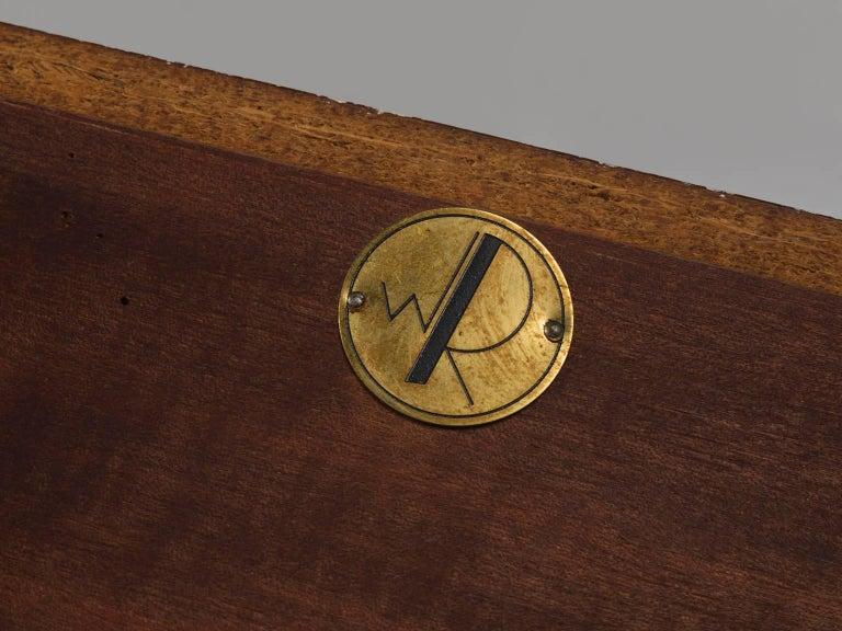 Walter Wirz for Wilhelm Renz Solid Teak Wall Shelves For Sale 1