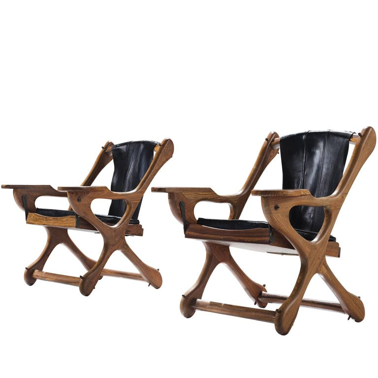 Don S. Shoemaker Set of Two Chairs for Señal Furniture Mexico