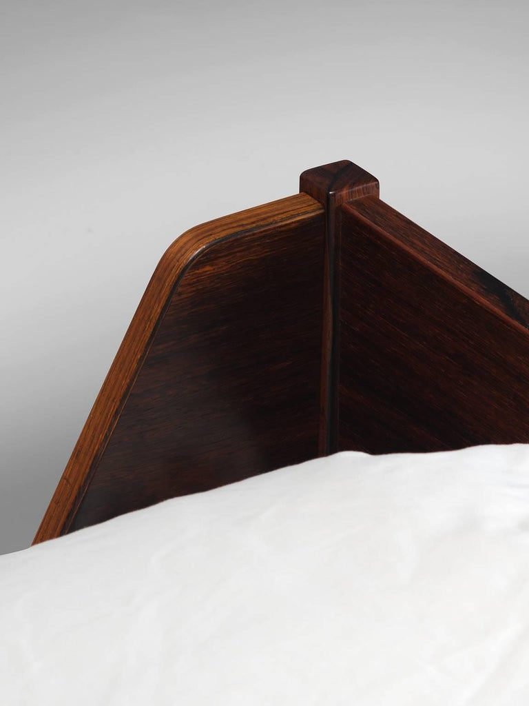 Kaj Wingding For Poul Hundevad Rosewood Bedframe For Sale