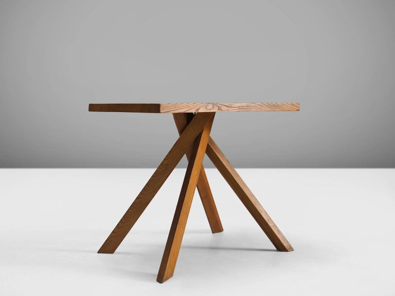 Pierre Chapo Centre Table 39 Rectangulaire Duo 39 In Elm For Sale At 1stdibs
