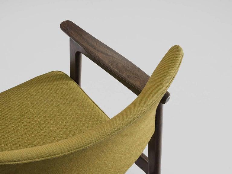 Set of 12 Oak Scandinavian Armchairs For Sale 1