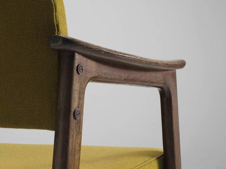 Set of 12 Oak Scandinavian Armchairs For Sale 2