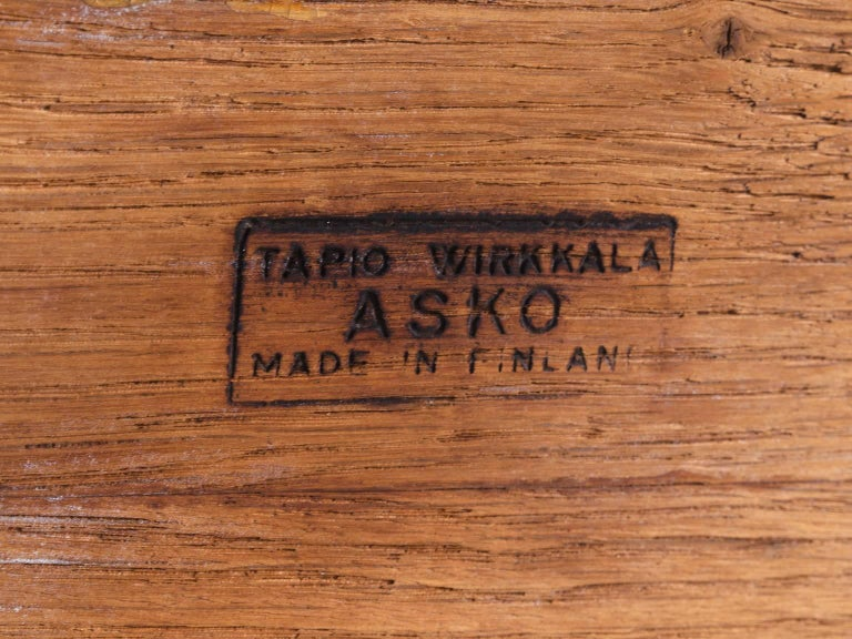 Tapio Wirkkala Coffee Table in Oak with Inlayed Top For Sale 1