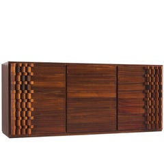 Luciana Frigerio Graphic Credenza in Rosewood