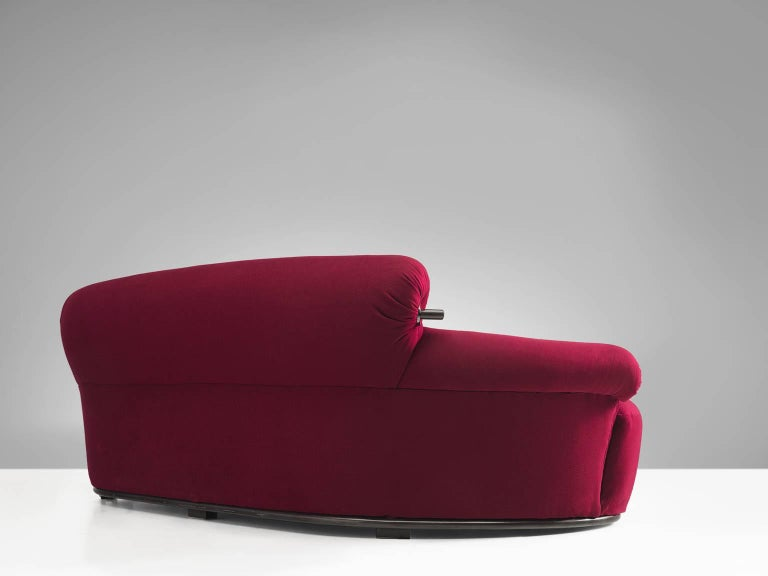 Fabric Set of Two 'Toro' Sofas by Luige Caccia Dominioni For Sale