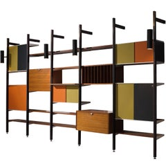 George Nelson for Herman Miller CSS Walnut Wall Unit