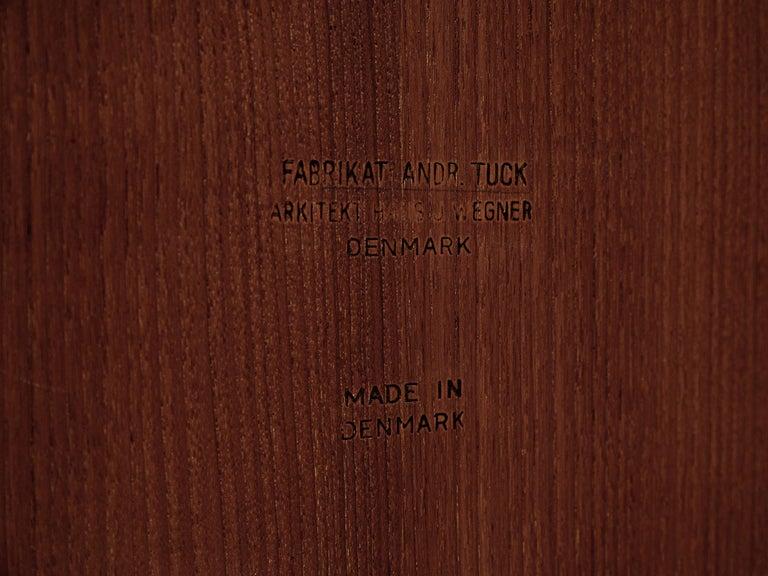 Hans J. Wegner for Andreas Tuck Table For Sale 3