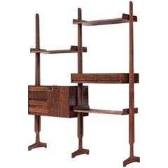 Vittorio Dassi Rosewood Book Shelf