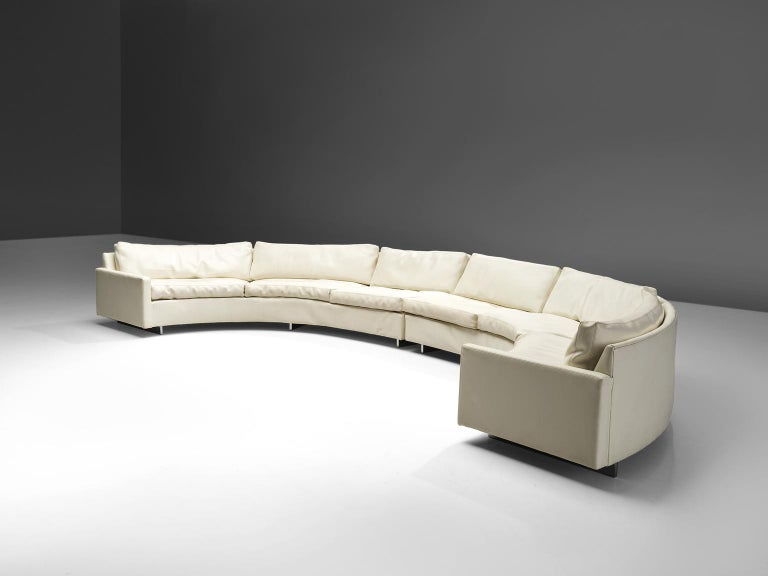 Mid-Century Modern Milo Baughman for Thayer Coggin Sectional Sofa For Sale