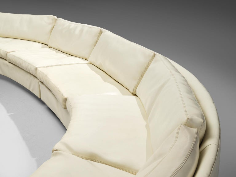 Late 20th Century Milo Baughman for Thayer Coggin Sectional Sofa For Sale