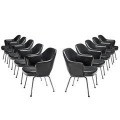 Eero Saarinen Set of Ten Chairs for Knoll International