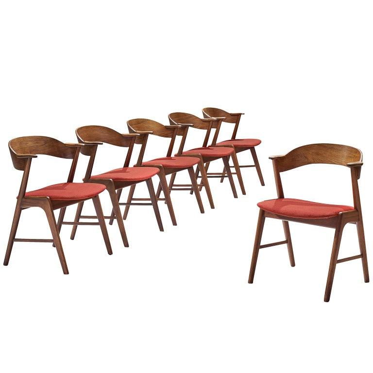 Kai Kristiansen Rosewood Dining Chairs