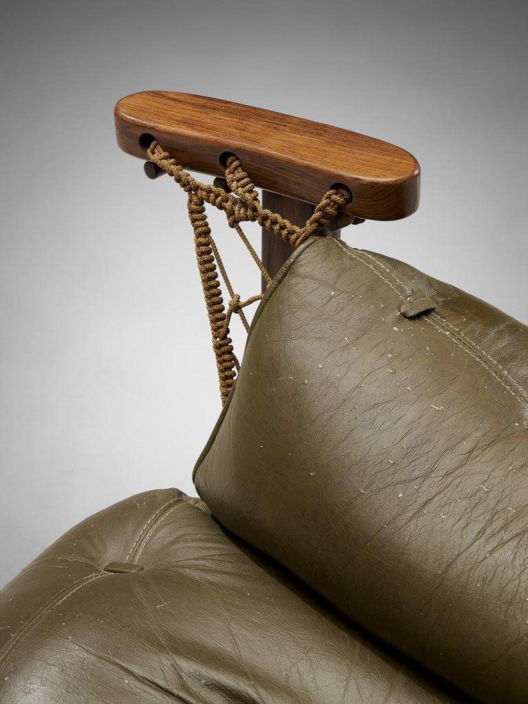 Jean Gillon Jangada Lounge Chair with Ottoman For Sale 2