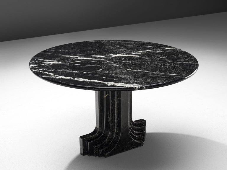 Post-Modern Carlo Scarpa 'Argo' Marble Table For Sale
