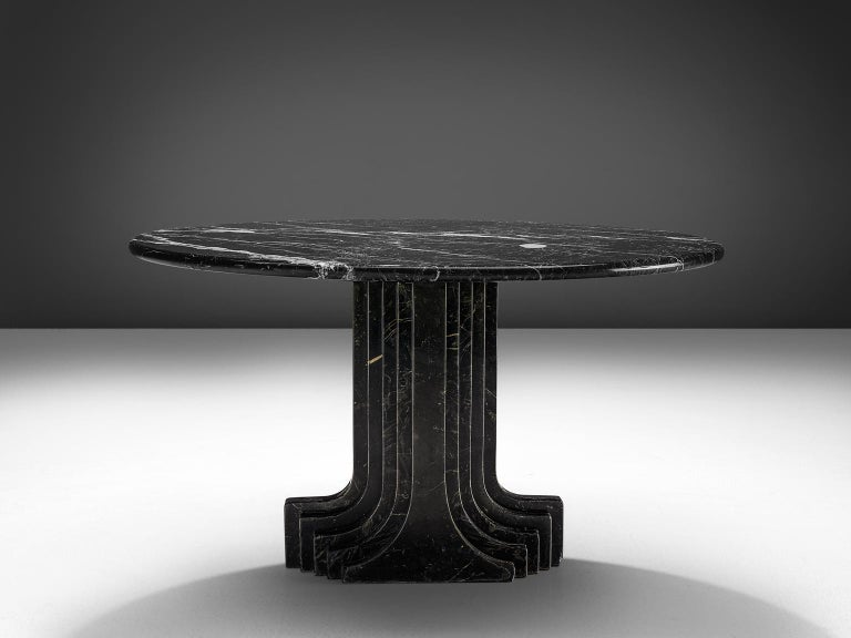Italian Carlo Scarpa 'Argo' Marble Table For Sale