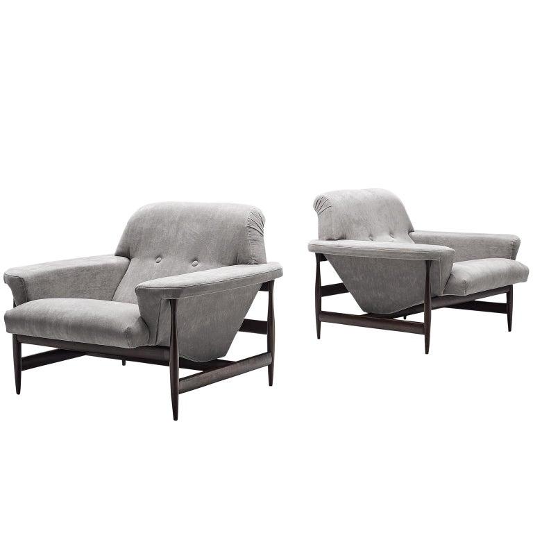 Brazilian Lounge Chairs, circa 1960