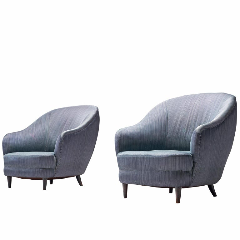 Gio Ponti Lounge Chairs for Casa e Giardino