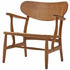 Hans Wegner CH22 Lounge Chair for Carl Hansen
