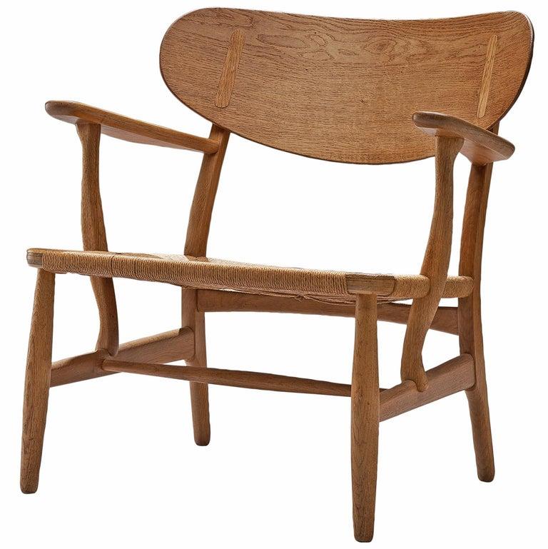 Hans Wegner CH22 Lounge Chair for Carl Hansen