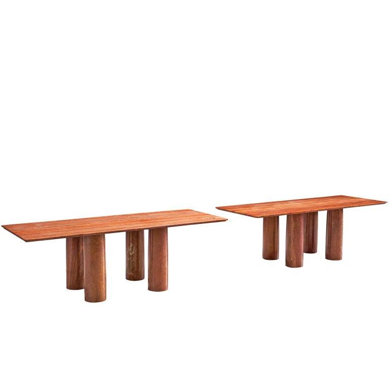Mario Bellini Pair of 'Il Colonato' Tables