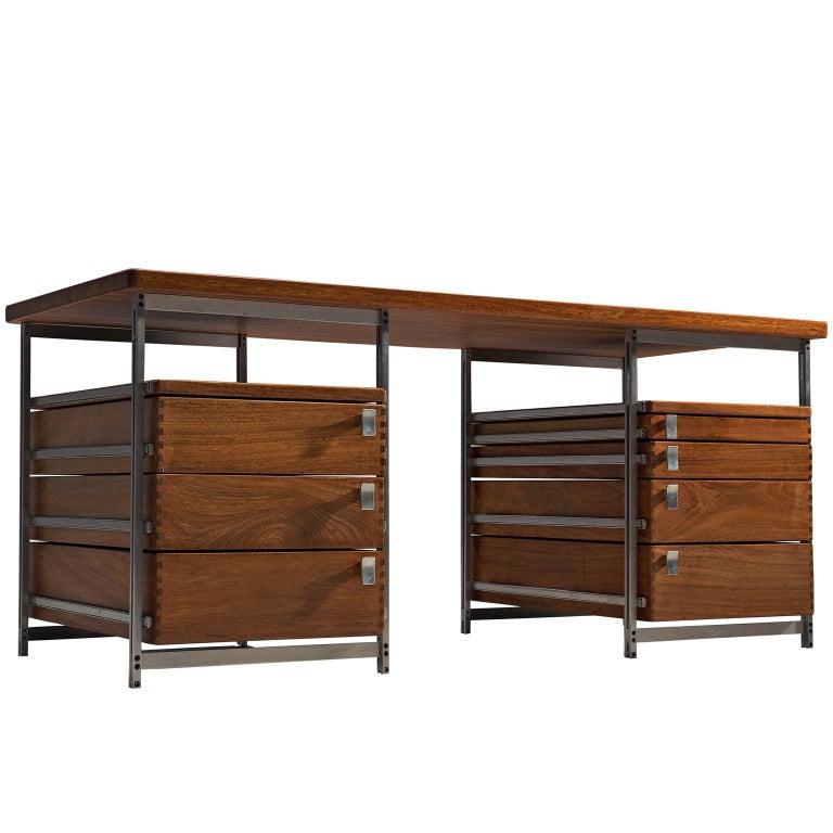 Jules Wabbes Desk Foncolin Desk For Sale