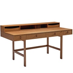 Jens Quistgaard 'Flip-Top' Desk for Peter Løvig Nielsen