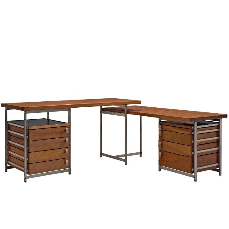 Jules Wabbes Foncolin Corner Desk