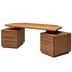 Pierre Chapo B40 Desk in Elm