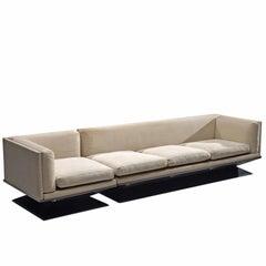 Luigi Pellegrin for MIM Roma Lounge Set with Off-White Fabric