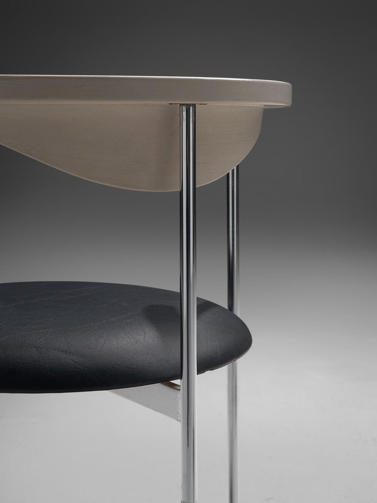 Frederik Sieck Set of Four Dining Chairs For Sale 1