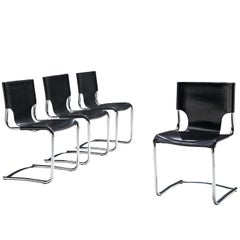 Claudio Bartoli Set of Four Dining Chairs