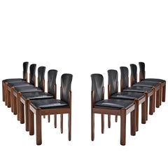 Silvio Coppola Set of Ten Dining Chairs