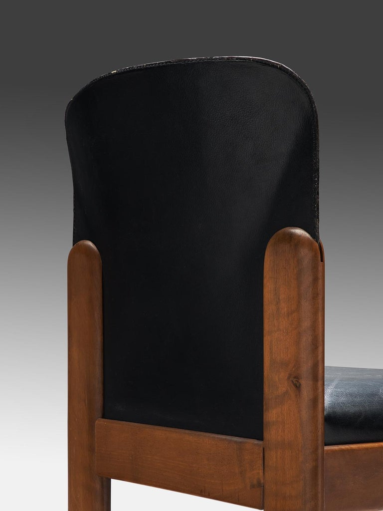 Silvio Coppola Set of Ten Dining Chairs In Good Condition For Sale In Waalwijk, NL
