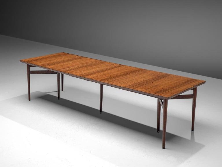 Arne Vodder Dining Room Set  In Good Condition For Sale In Waalwijk, NL