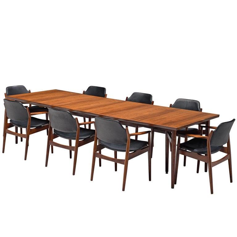 Arne Vodder Dining Room Set  For Sale