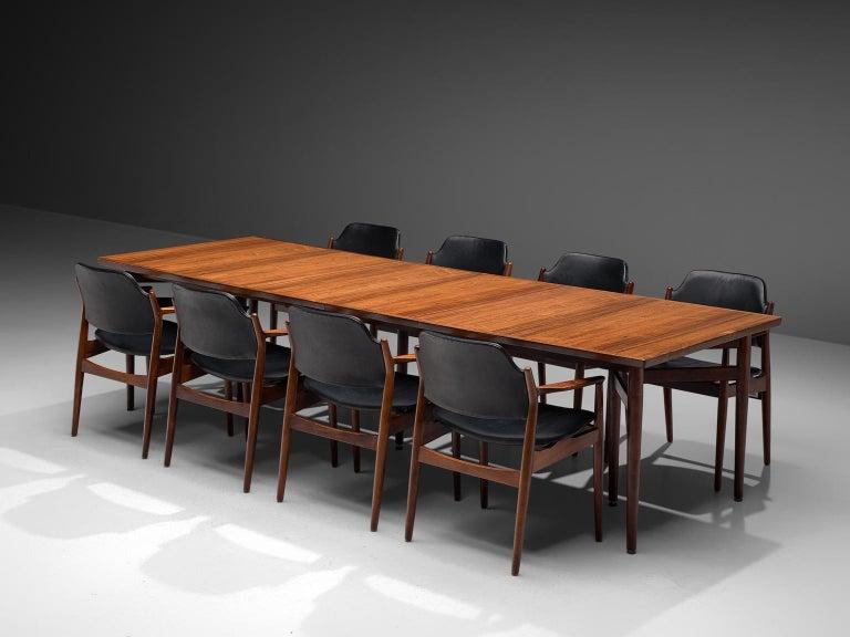 Scandinavian Modern Arne Vodder Dining Room Set  For Sale
